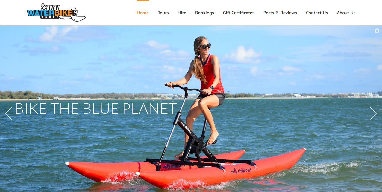 Waterbike tour com o Bikeboat Up na Austrália