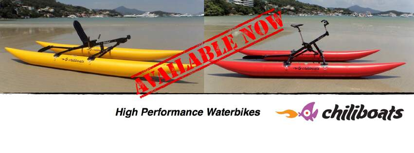 High Performance Waterbikes available now