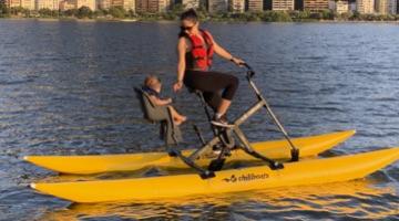 bike aquática dupla